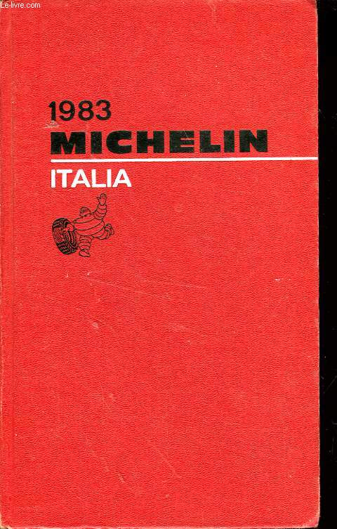 GUIDE ROUGE MICHELIN ITALIE