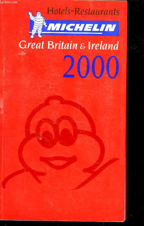 GUIDE ROUGE MICHELIN ANGLETERRE/IRLANDE