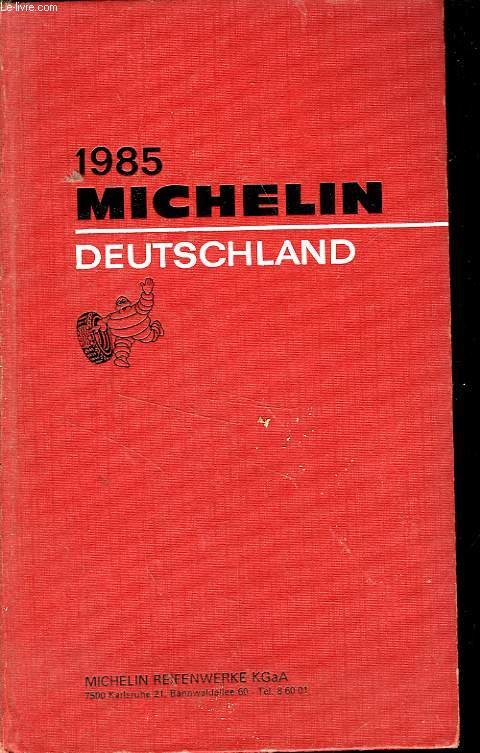 GUIDE ROUGE MICHELIN ALLEMAGNE