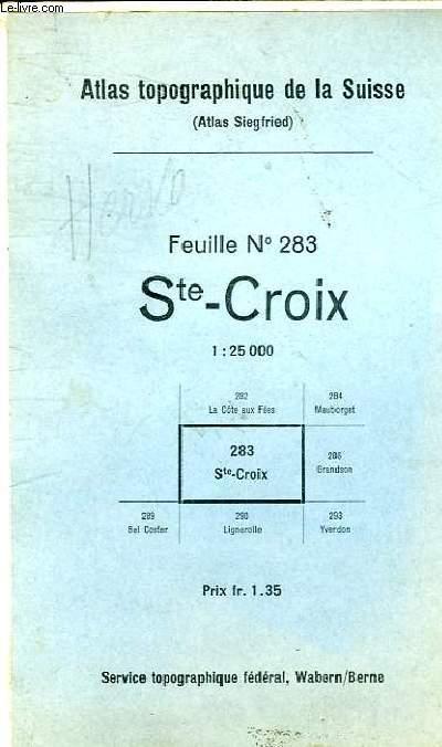 Ste - CROIX FEUILLER N°283
