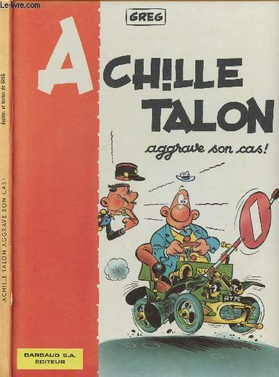 ACHILLE TALON - ACHILLE TALON AGGRAVE SON CAS !