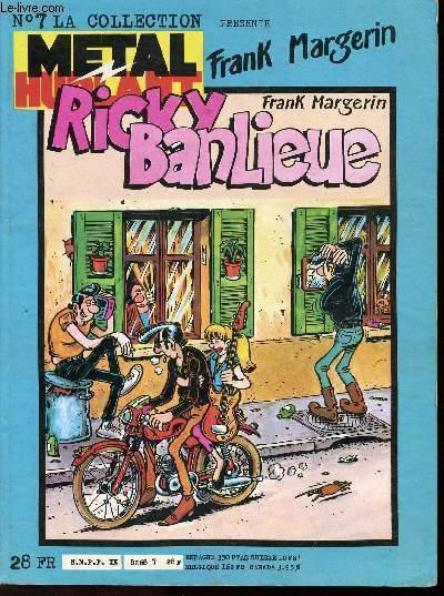 RICKY BANLIEUE - METAL HURLANT N°7.