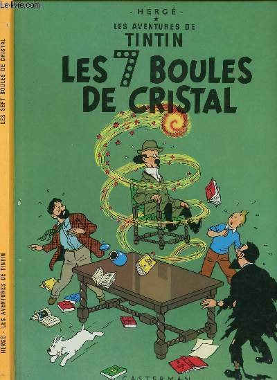 LES AVENTURES DE TINTIN - TOME 13 : LES 7 BOULES DE CRISTAL.