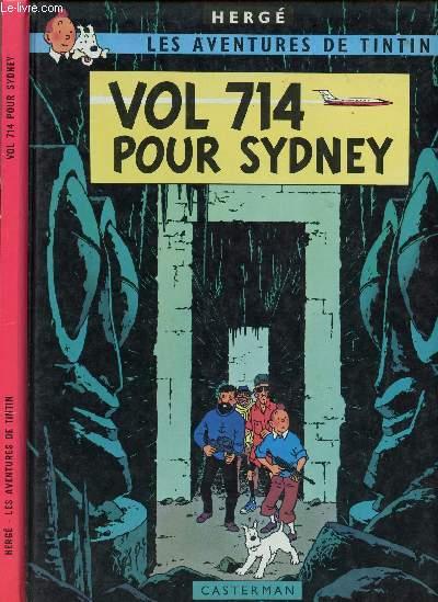 LES AVENTURES DE TINTIN - TOME 22 : VOL 714 POUR SYDNEY.