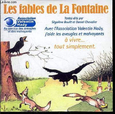CD / Les fables de La Fontaine