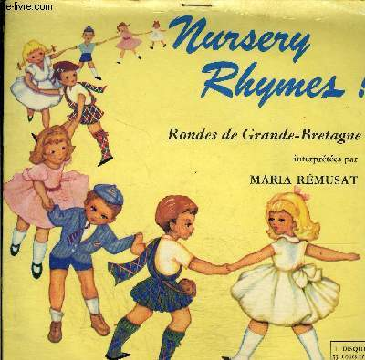disque 45t // Nursery rhymes !