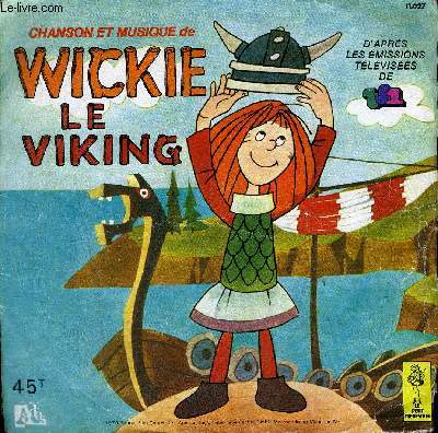 Disque 45t // Wickie le Viking