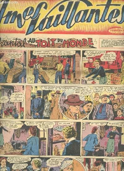 Âmes Vaillantes - 1er semestre - Hebdomadaires du 6 janvier au 6 juillet 1952 - 8 numéros (incomplet) : n°1 à 3 + 5 à 6 + 10 + 20 + 27 - n°5 en 3 exemplaires - n°10 en 5 exemplaires