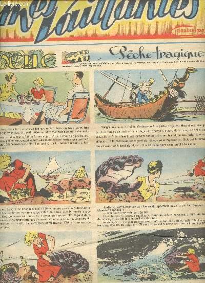 Âmes Vaillantes - 1er semestre - Hebdomadaires du 26 juillet au 20 décembre 1953 + Noël 1953 - 8 numéros (incomplet) : n°30 +40+45+47 à 49 + 50 + Noël - n°30 et 47 en 2 exemplaires