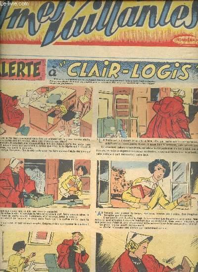 Âmes Vaillantes - Année 1954 - Hebdomadaires du 17 janvier au 26 décembre 1954 - 6 numéros (incomplet) : n°3 + 9 + 10 + 24 + 26 + 52 - n°10 en 3 exemplaires - n°26 en 2 exemplaires
