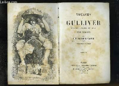 Voyages de Gulliver dans des contrées lointaines. En 2 Tomes.