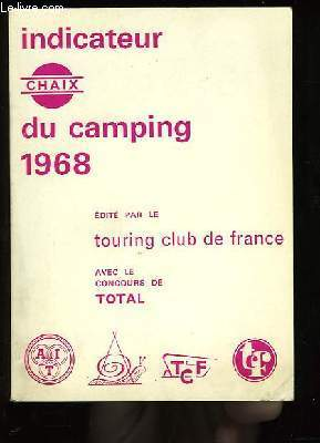 Indicateur Chaix du Camping. 1968