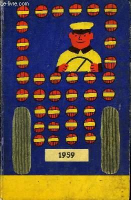 Agenda Dunlop 1959