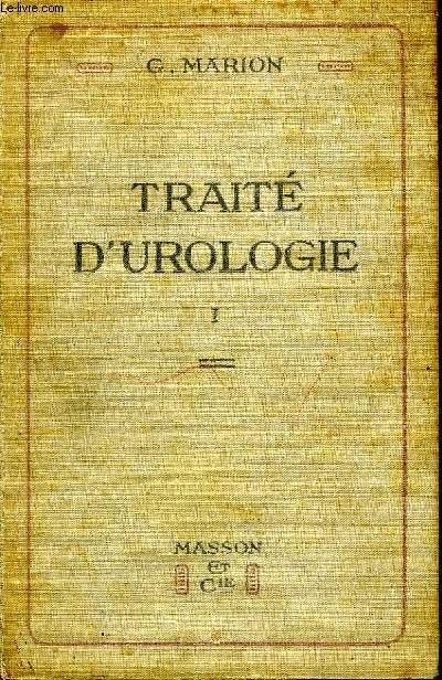 Traité d'Urologie TOME I