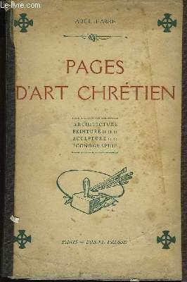 Pages d'Art Chrétien