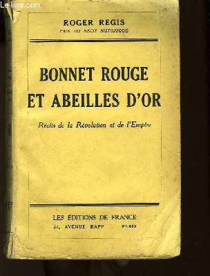 Bonnet Rouge et Abeilles d'Or