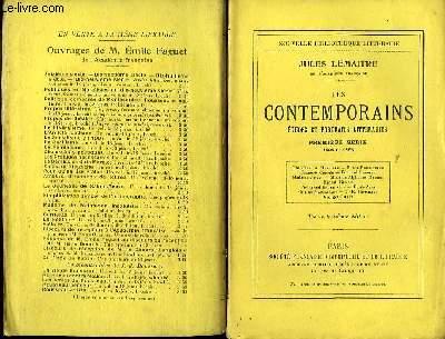Les Contemporains. Etudes et Portraits Littéraire.  séries en 8 volumes.