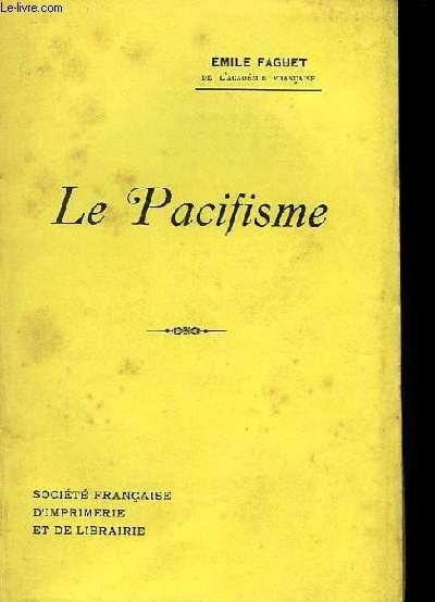 Le Pacifisme.