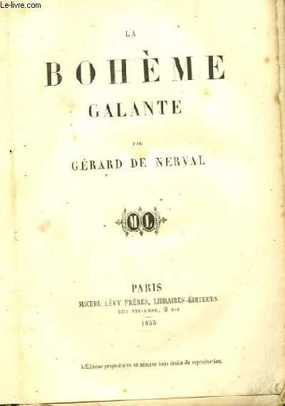 La Bohème Galante.
