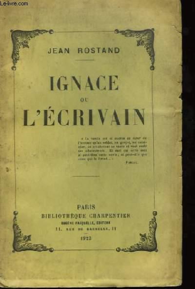 Ignace ou l'Ecrivain