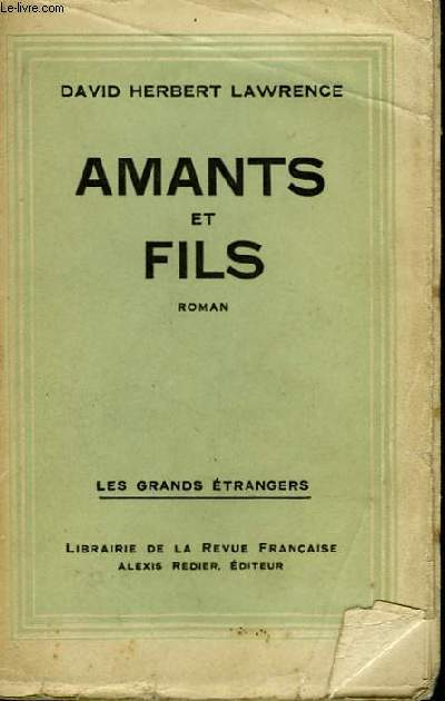 Amants et Fils. (Sons & Lovers).