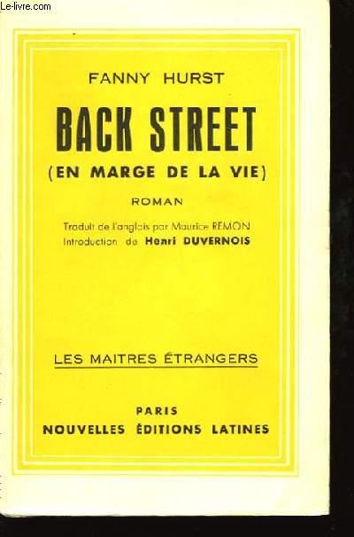 Back Street (en marge de la vie).
