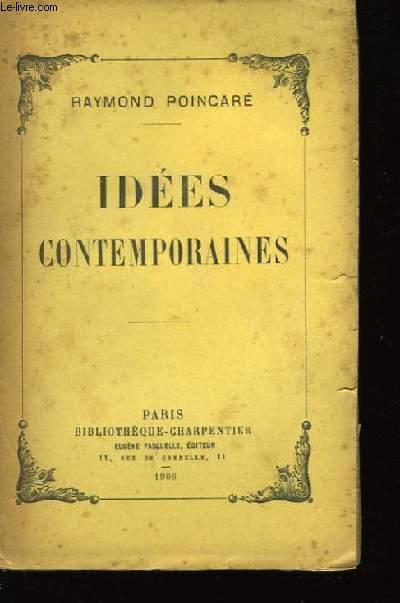 Idées Contemporaines.