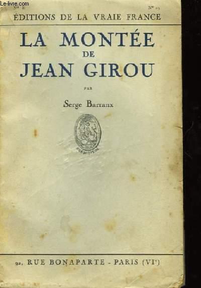 La montée de Jean Girou.