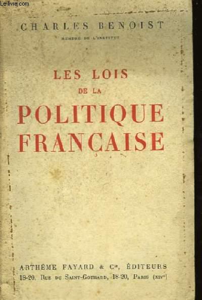 Les Lois de la Politique Française.