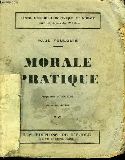 Morale Pratique.