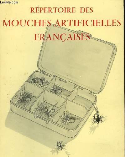 Répertoire des mouches artificielles françaises.