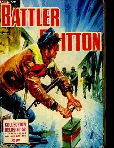 Battler Britton. Album N°52. 4 numéros du 355 au 358.