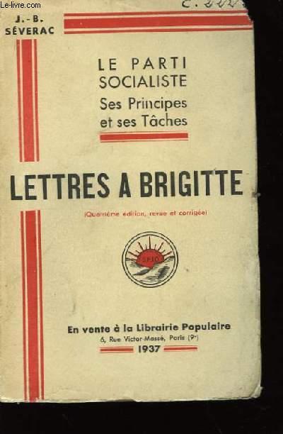 Lettres à Brigitte.