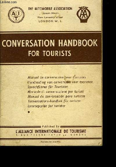 Conversation handsbook for tourists.