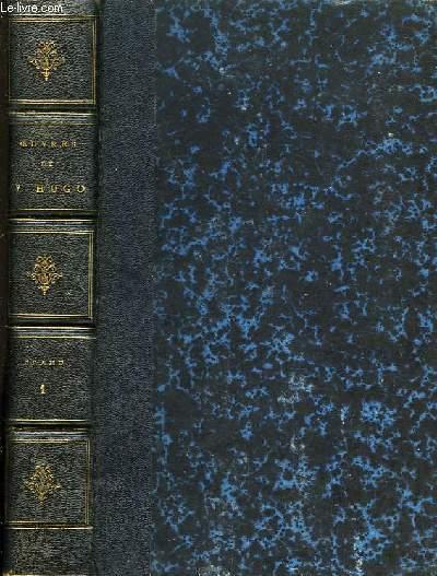 Oeuvres Complètes de Victor Hugo. Drame, en 4 TOMES.