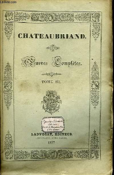 Oeuvres Complètes. TOME III, 10ème livraison : Mélanges historiques.