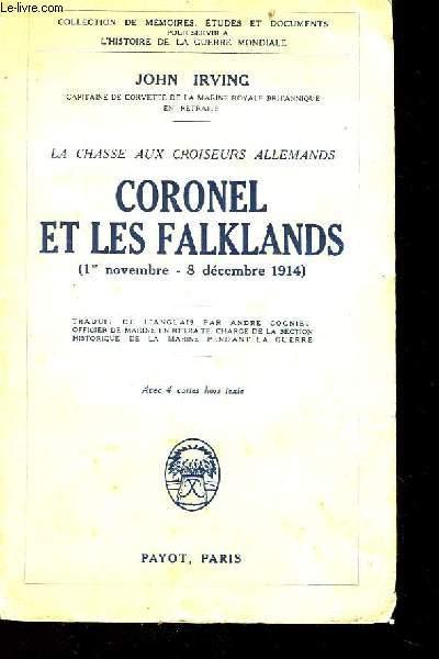 Coronel et les Falklands (1er novembre - 8 décembre 1914)