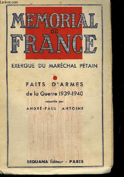 Mémorial de France