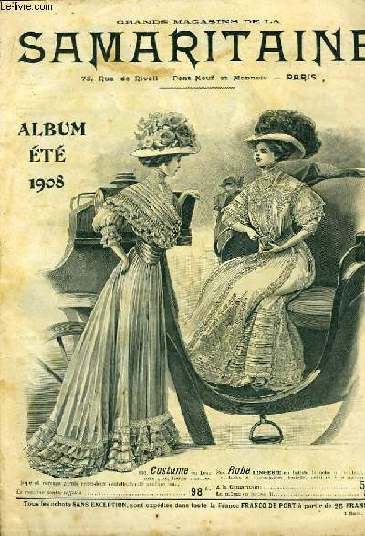 Catalogue Album Eté 1908