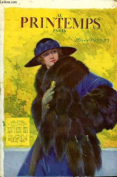 Catalogue Hiver 1922 - 23
