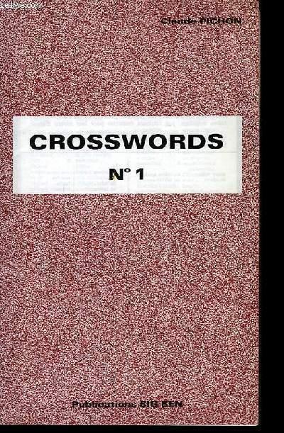 Crossword N°1