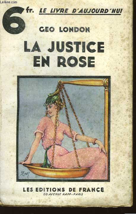 La justice en rose.