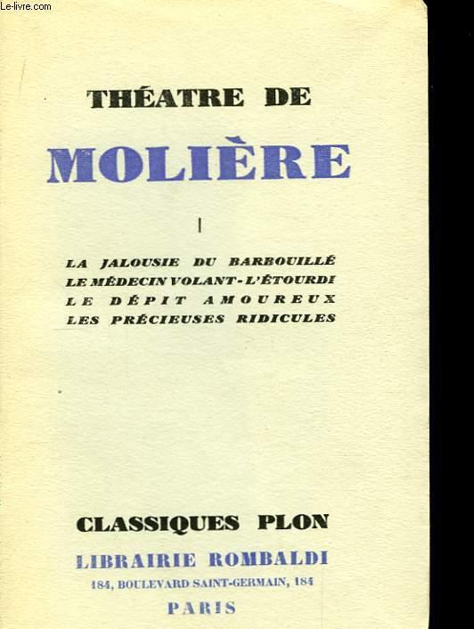 Théâtre de Molière. En 6 Tomes.