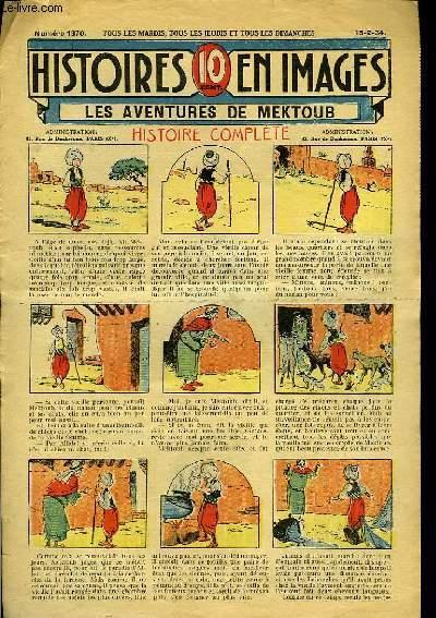 Histoires en Images n°1370 : Les aventures de Mektoub.