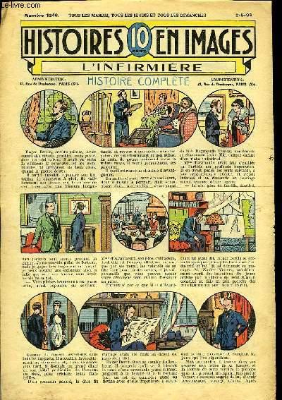 Histoires en Images n° 1246 : L'Infirmière.