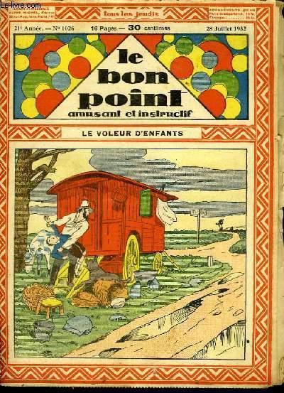Le Bon Point, amusant et instructif, 21ème année, n°1026 : Le voleur d'enfants.