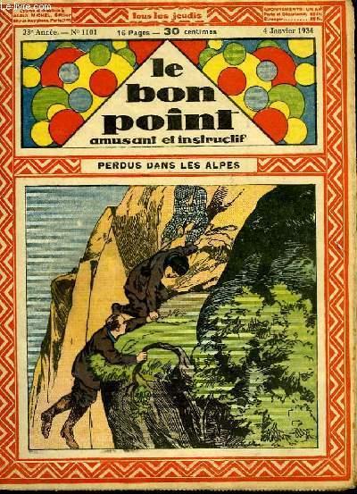 Le bon point, amusant et instructif. 23ème année, n°1101 : Perdus dans les Alpes.