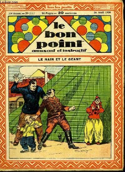 Le bon point, amusant et instructif. 23ème année, n°1117 : Le nain et le géant.