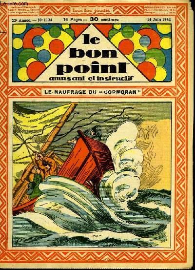 Le bon point, amusant et instructif. 23ème année, n°1124 : Le naufrage du