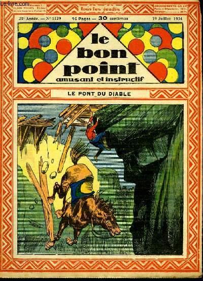 Le bon point, amusant et instructif. 23ème année n°1129 : Le pont du Diable.